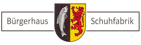 Bürgerhaus Schuhfabrik Logo